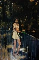 """Nurture / Oil on Canvas / 24""""x 36"""" / Sold"""
