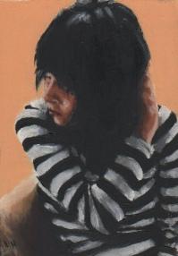Self Portrait / Oil on Panel