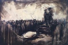 "Union Rally / 30 x 20"" / Oil"