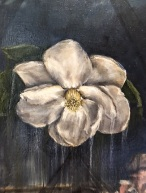 "Detail from ""Magnolia"" / Oil"